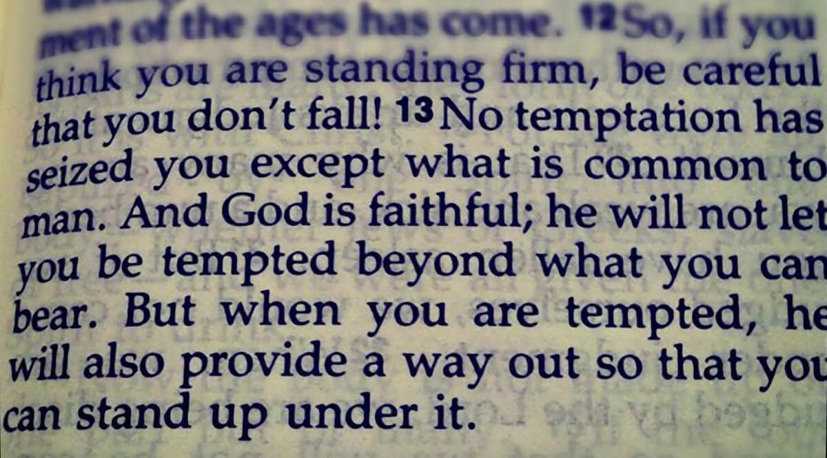 1 Corinthians 9, Verse 13
