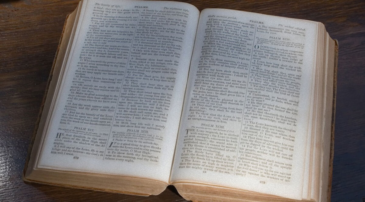 1859 Family Bible
