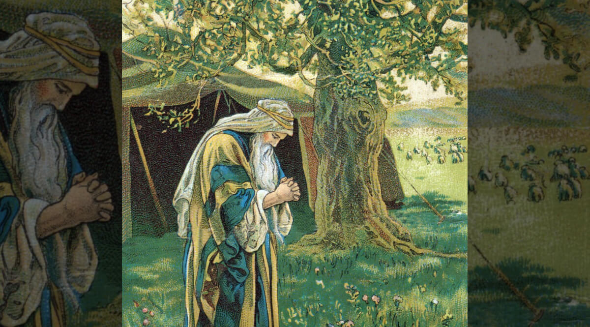 Abraham Prays for the Safety of Lot