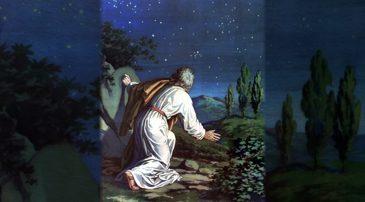 Abraham Views a Multitude of Stars