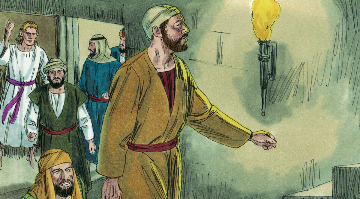 Acts 5 - The Apostles Freed from Prison
