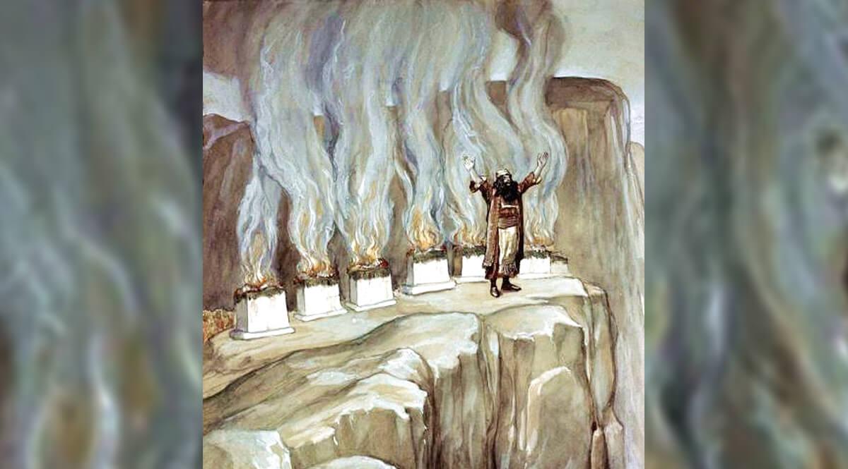 Balaam Prophesies the Glory of Israel