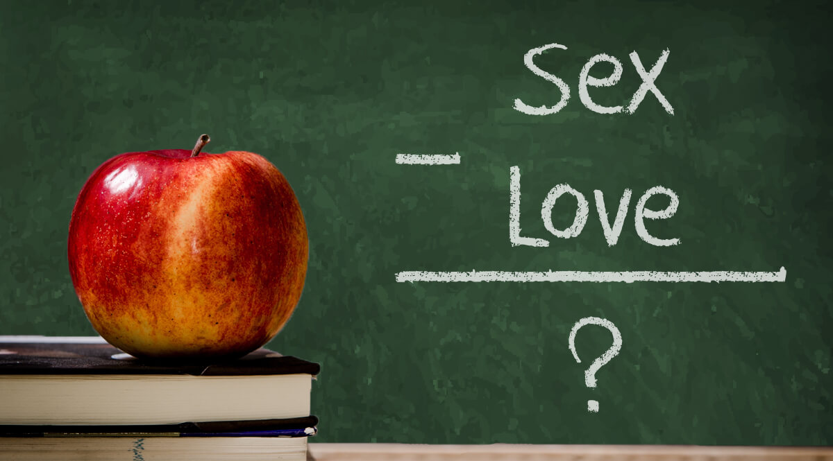 Chalkboard Love Equation