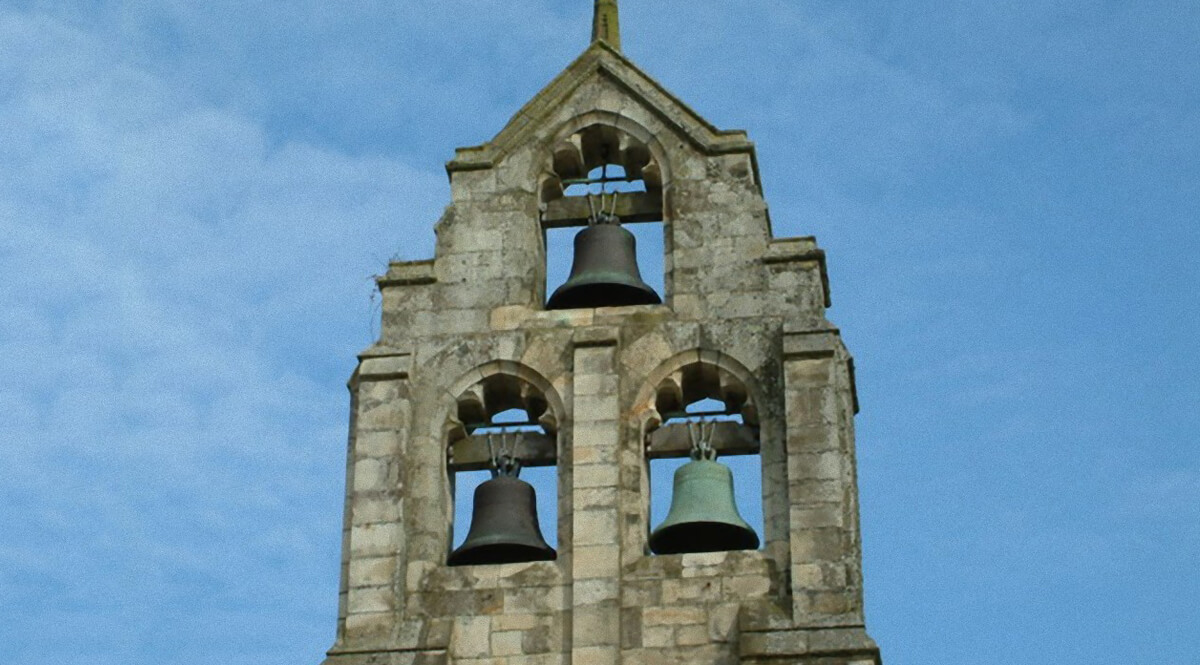 Church Bells at Tresillian, Cornwall