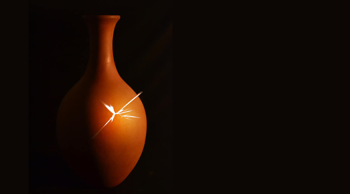 Earthen Vase in Shadow