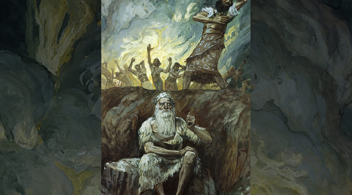 Elijah Bringeth Fire from Heaven