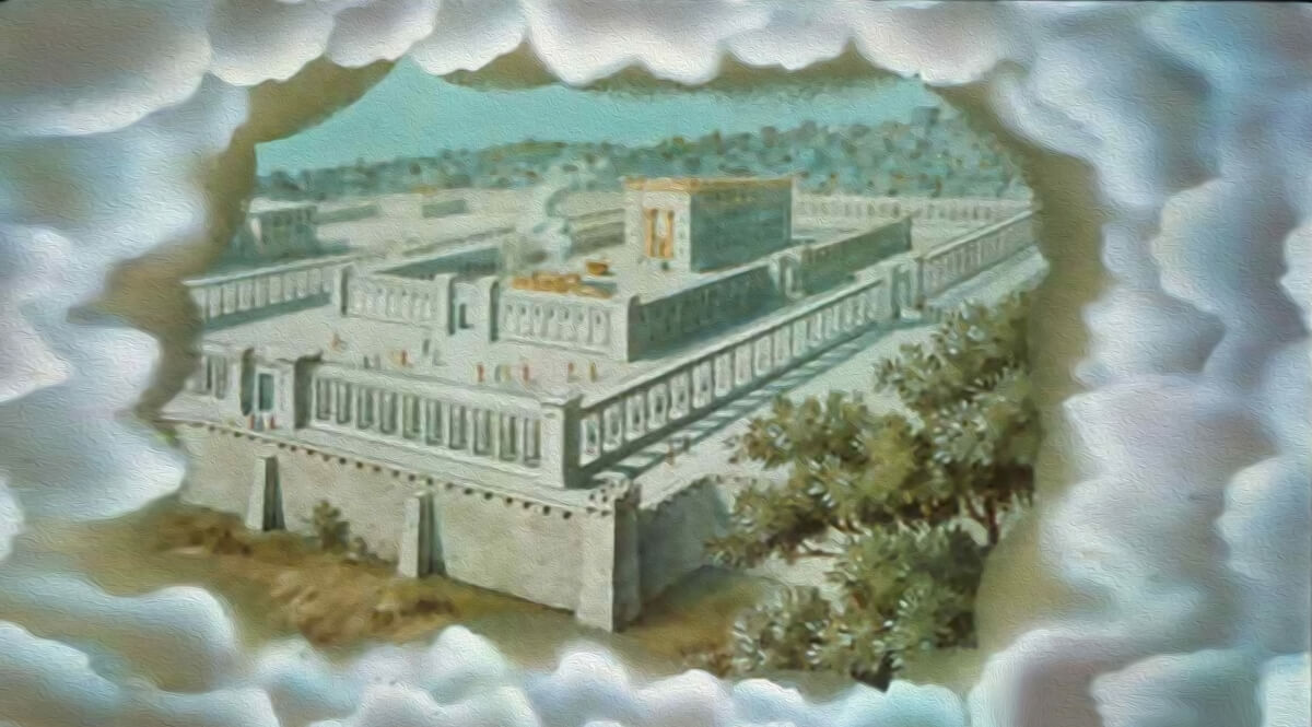 Ezekiel 41 - A Vision of the Temple of the Lord