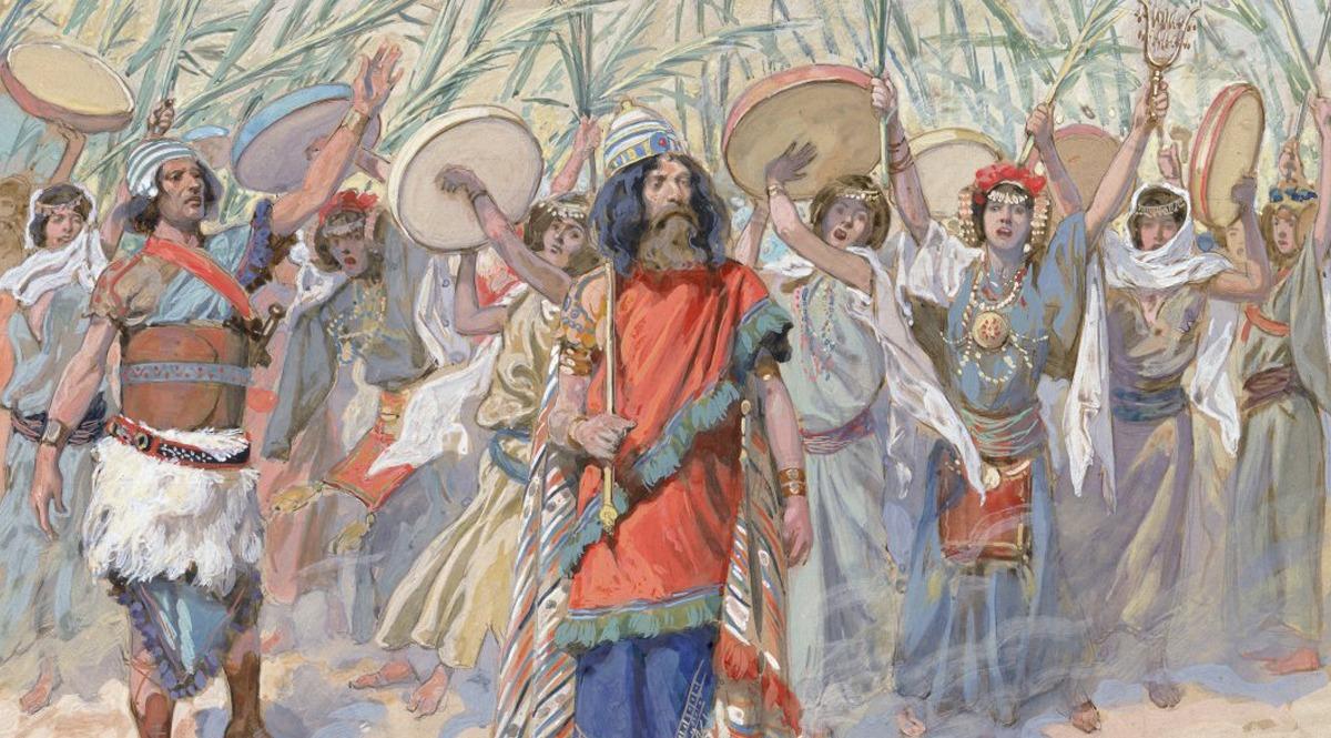 Festivities in Honour of David