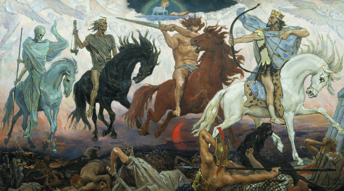 Four Horsemen of the Apocalypse - Vasnetsov