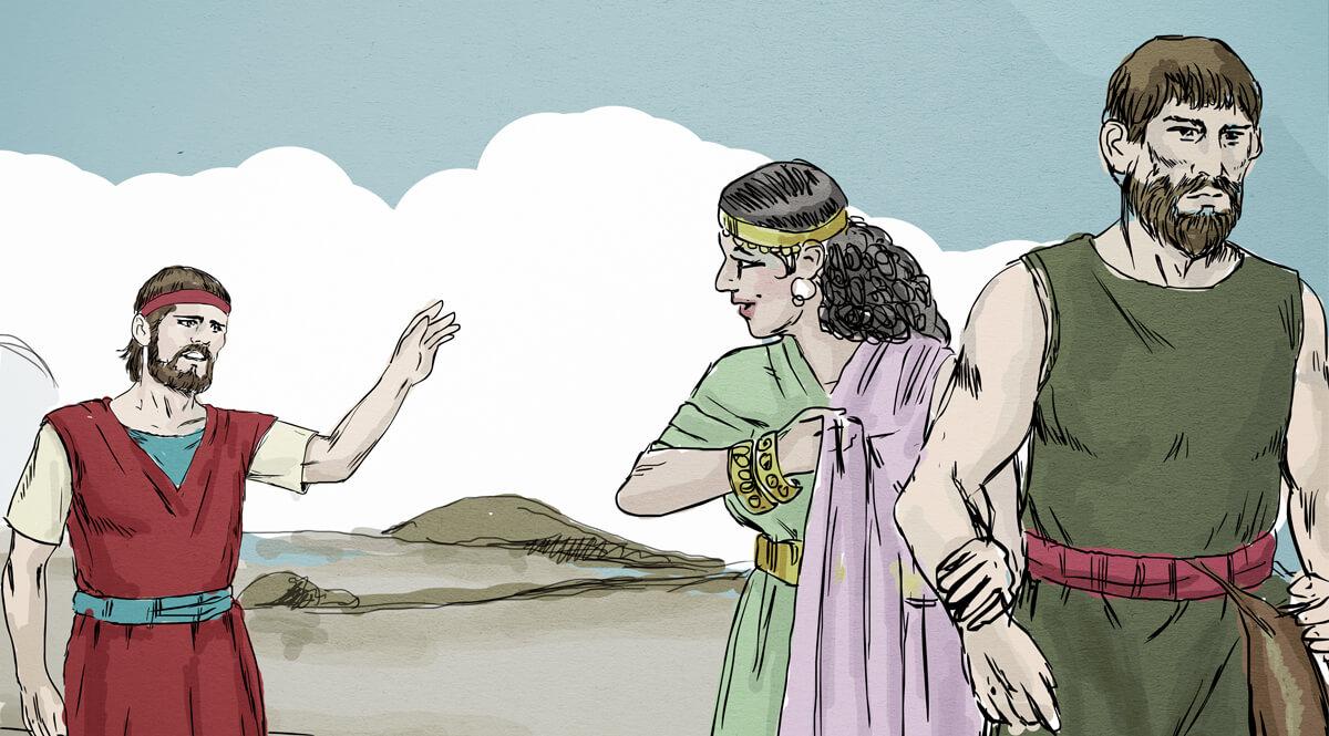 Gomer Leaving Hosea