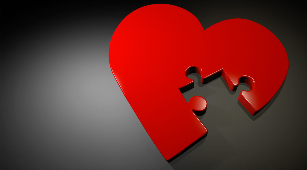 Heart with a Missing Piece