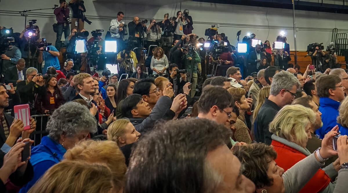 Hillary Clinton Concession Speech - Hooksett, New Hampshire