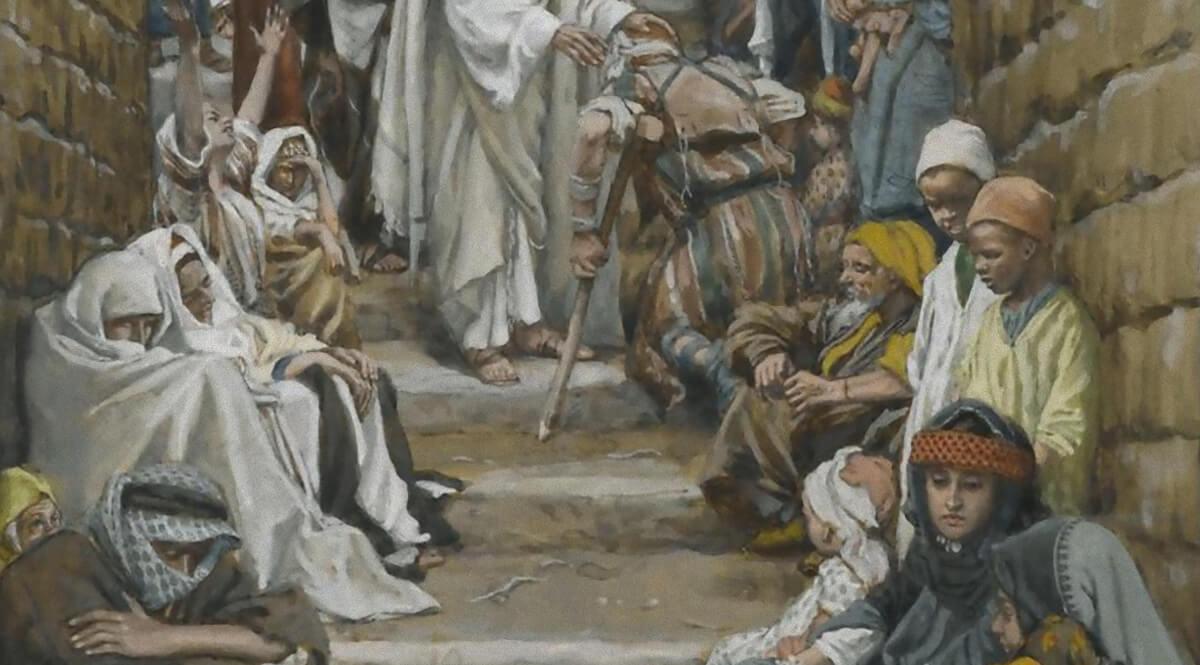 In the Villages the Sick Were Presented to Him (Dans les villages on lui présentait des malades)