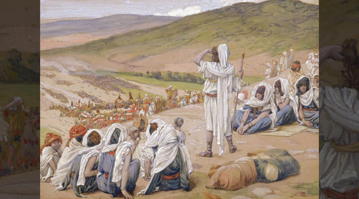 Jacob Sees Esau Coming to Meet Him