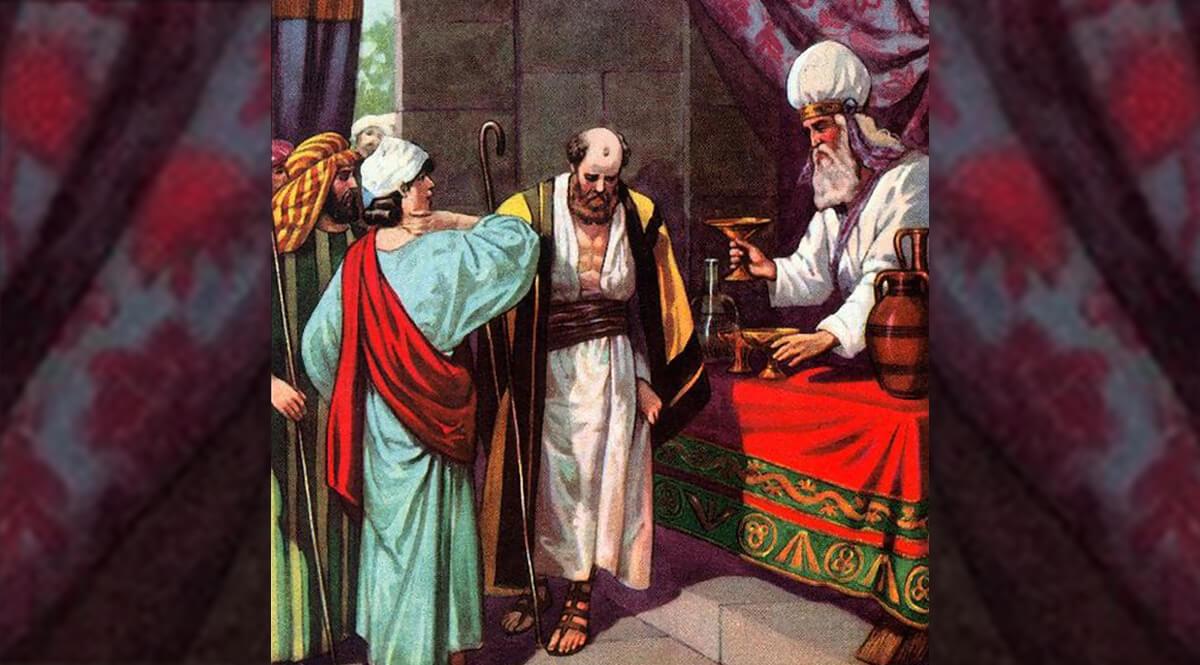 Jeremiah 35 - Jeremiah Offering Wine to the Rechabites