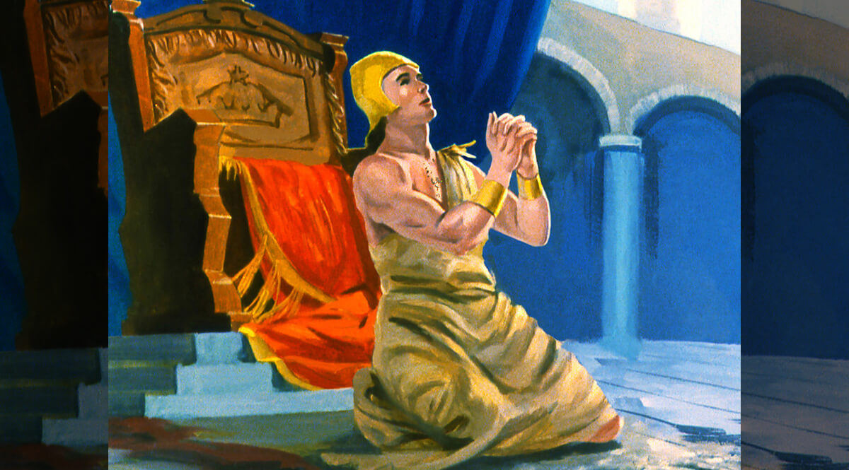 Jonah 3 - The King of Nineveh Repents in Sackcloth