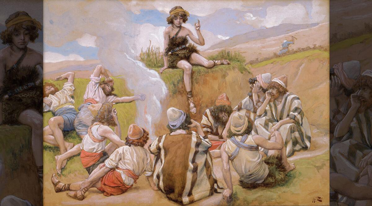Joseph Reveals His Dream to His Brethren