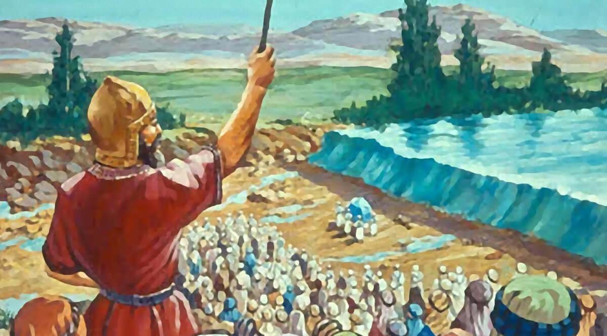 Joshua 3 - The Priests Precede the People in Crossing the River Jordan