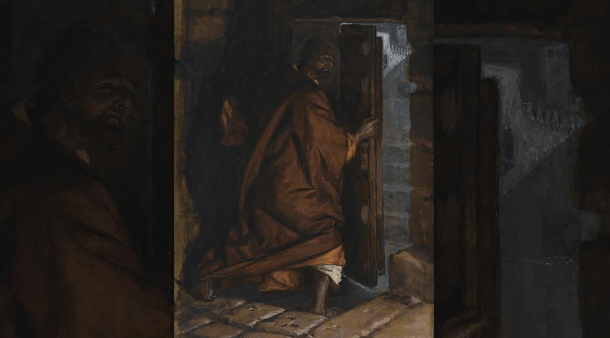 Judas Leaves the Cenacle (Judas quitte le Cénacle)