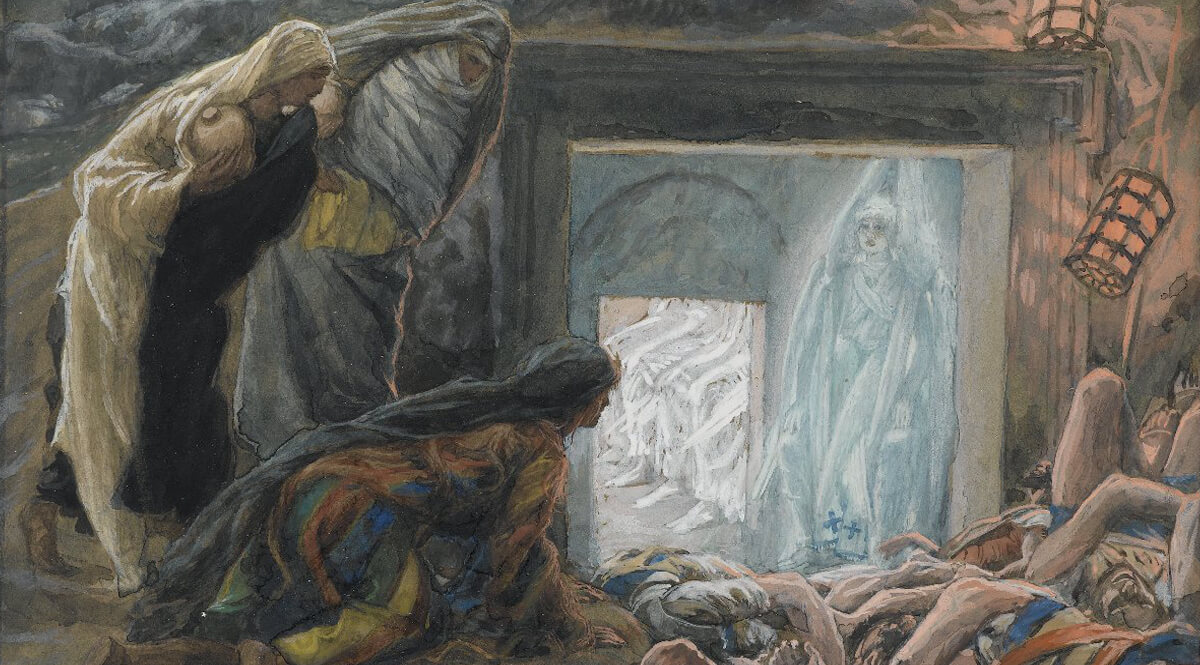 Mary Magdalene and the Holy Women at the Tomb (Madeleine et les saintes femmes au tombeau)