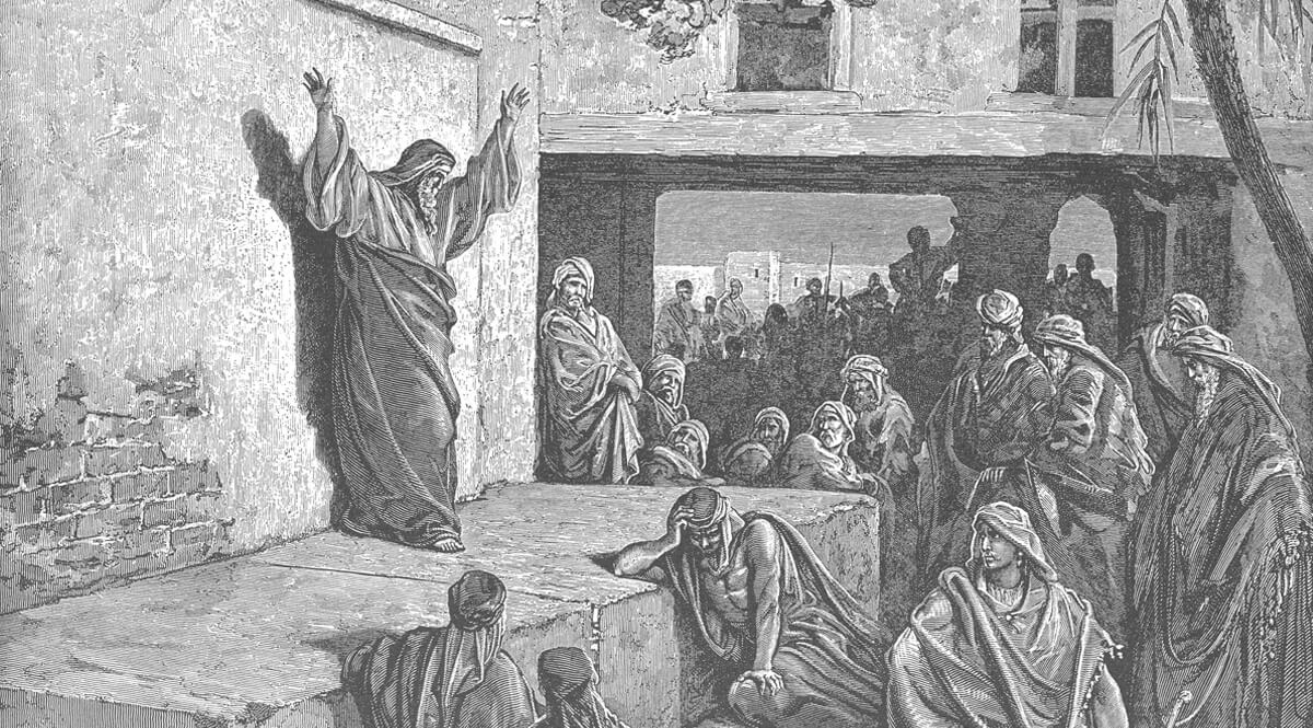 Micah Exhorting the Israelites to Repentance