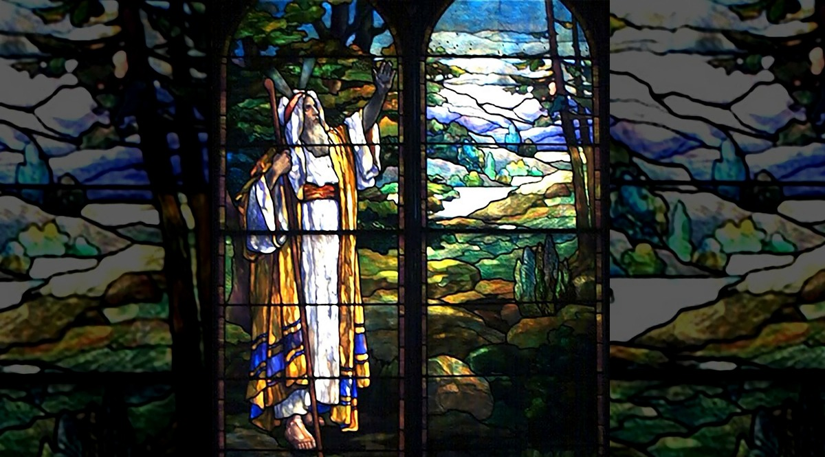 Moses Viewing the Promised Land - Trinity Episcopal Church