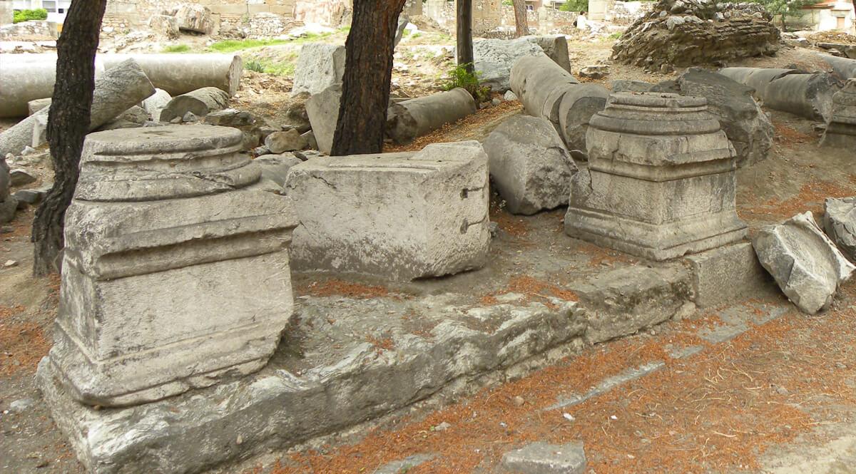 Portico at Thyatira
