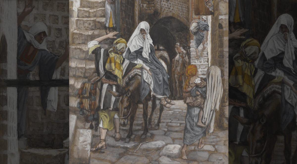 Saint Joseph Seeks a Lodging in Bethlehem (Saint Joseph cherche un gîte à Bethléem)
