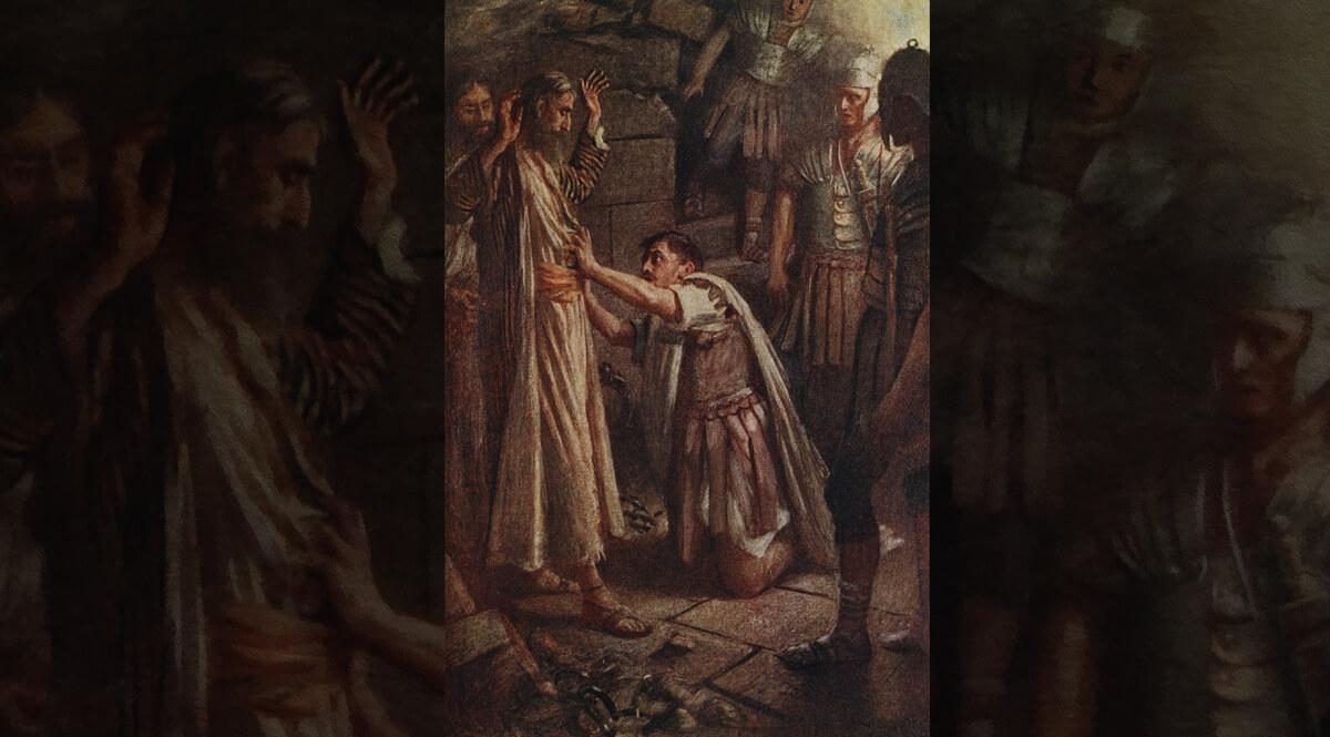 Saint Paul and the Philippian Jailer