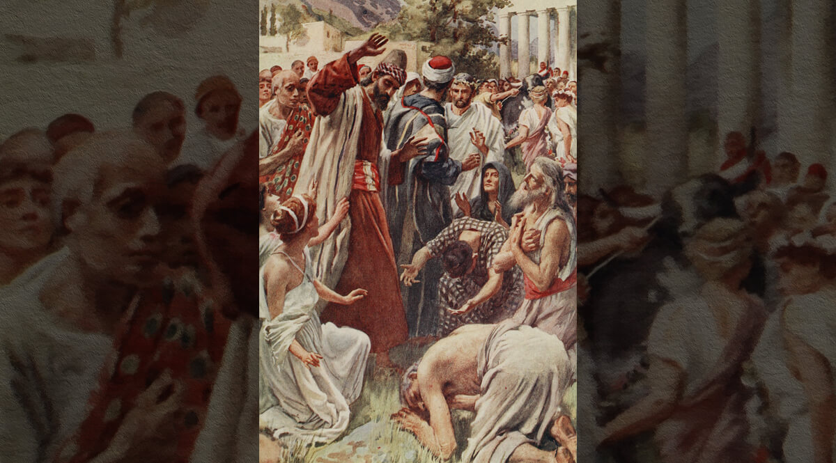 Saint Paul at Lystra