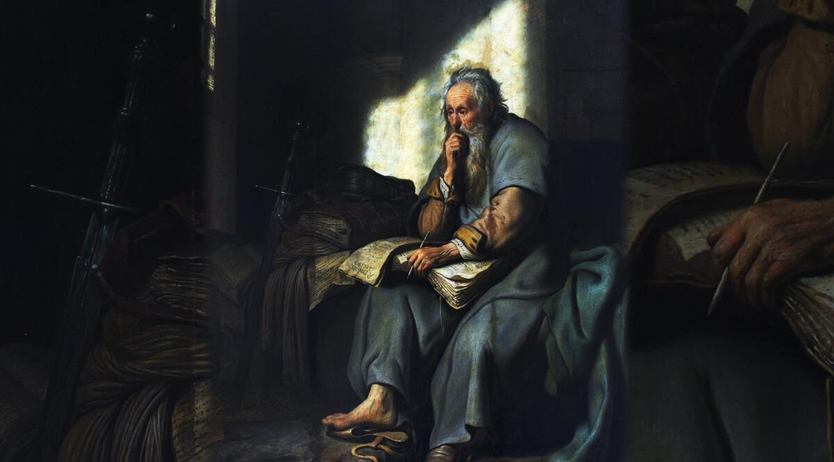 Saint Paul in Prison - Rembrandt