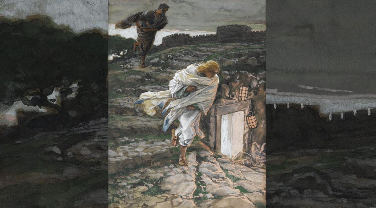 Saint Peter and Saint John Run to the Sepulchre (Saint Pierre et Saint Jean courent au sépulcre)
