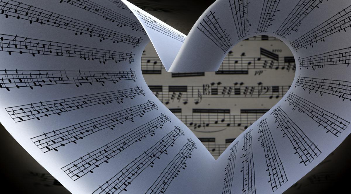 Sheet Music Heart