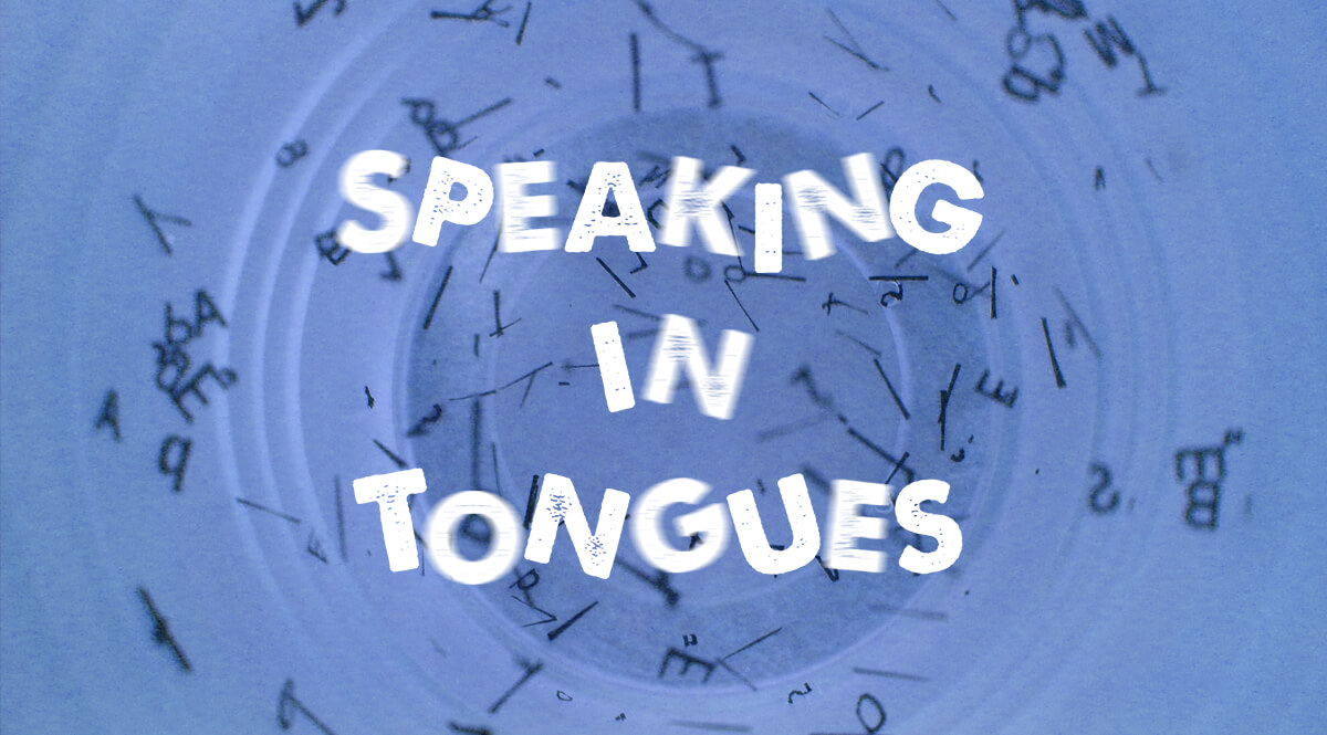 Speaking in Tongues - Circular Jumble of Letters