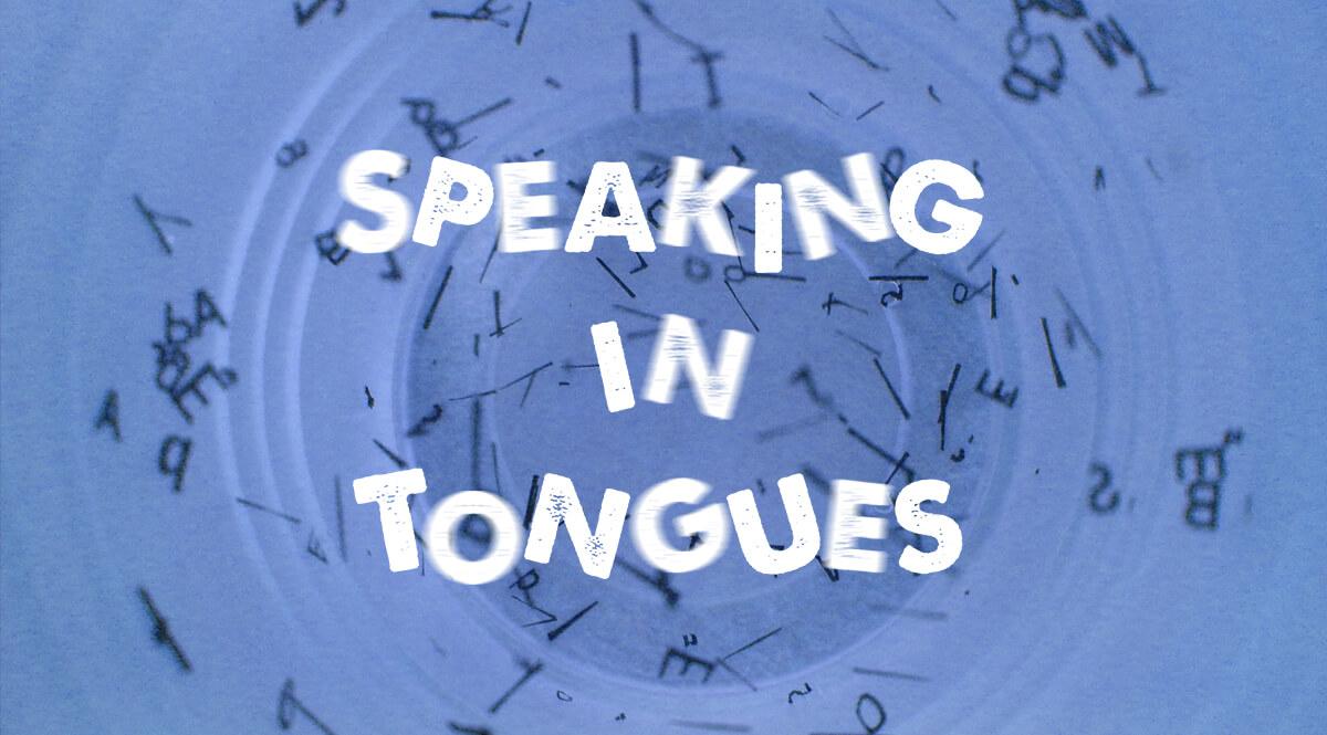 Speaking in Tongues - Circular Jumble of Letters
