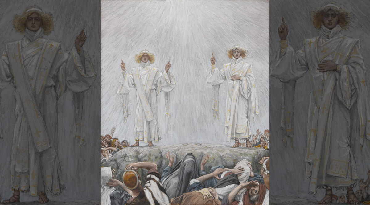 The Ascension as Seen from Below (L'Ascension comme vue de dessous)