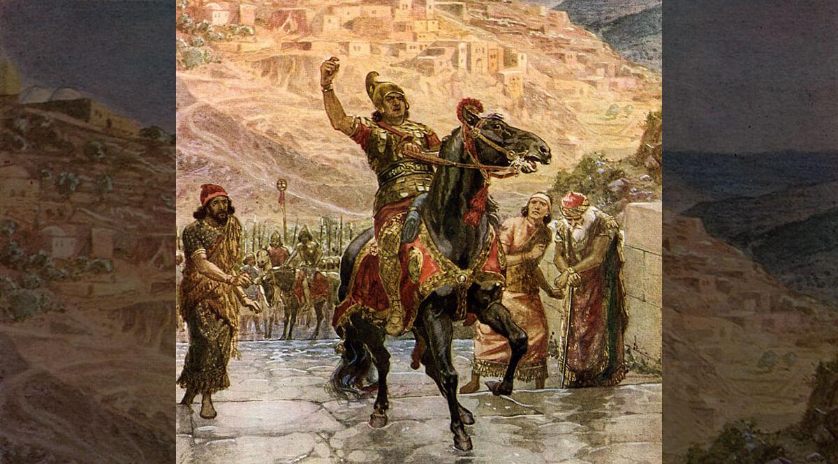 The Assyrian Rabshakeh Demanding the Surrender of Jerusalem