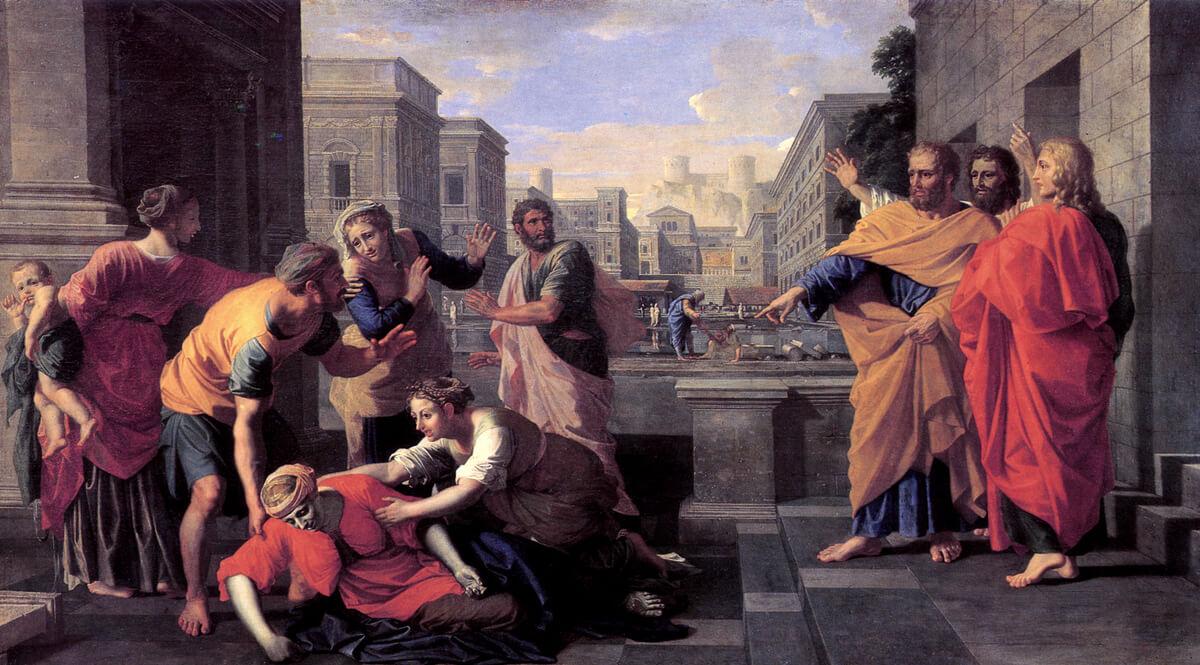 The Death of Sapphira (Le mort de Saphire)