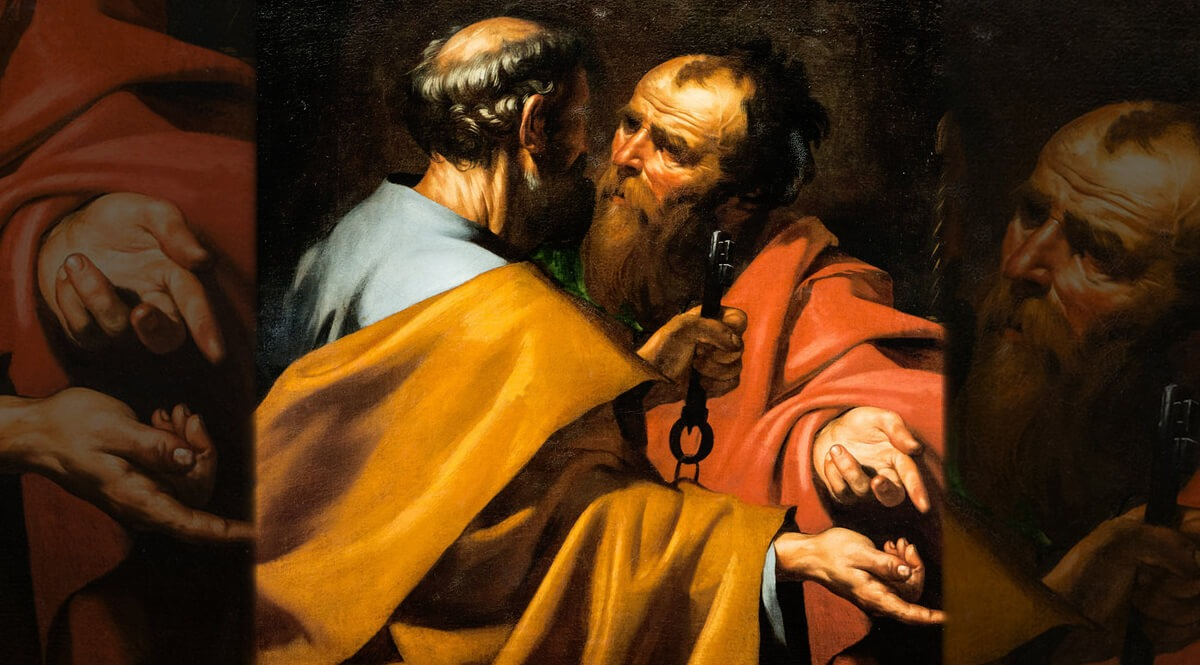 The Dispute at Antioch - Saints Peter and Paul - Ribera