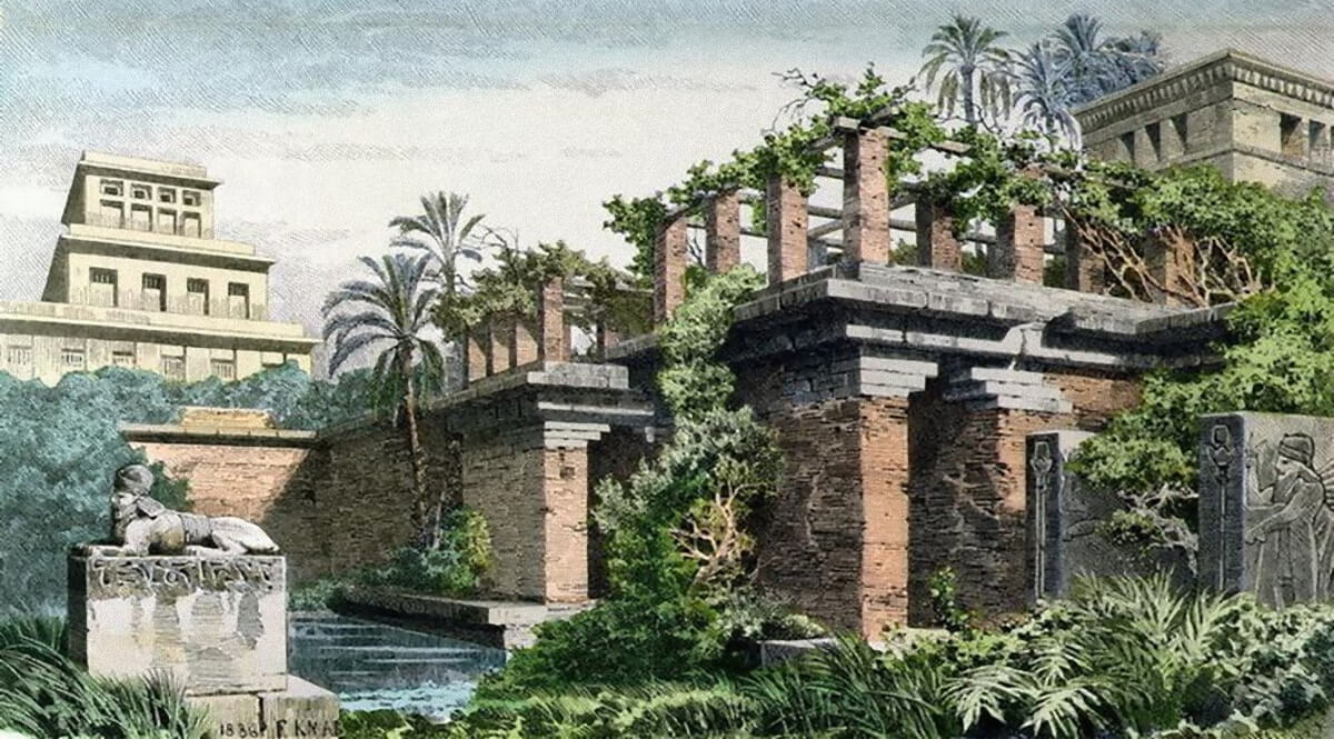 The Hanging Gardens of Babylon - Knab