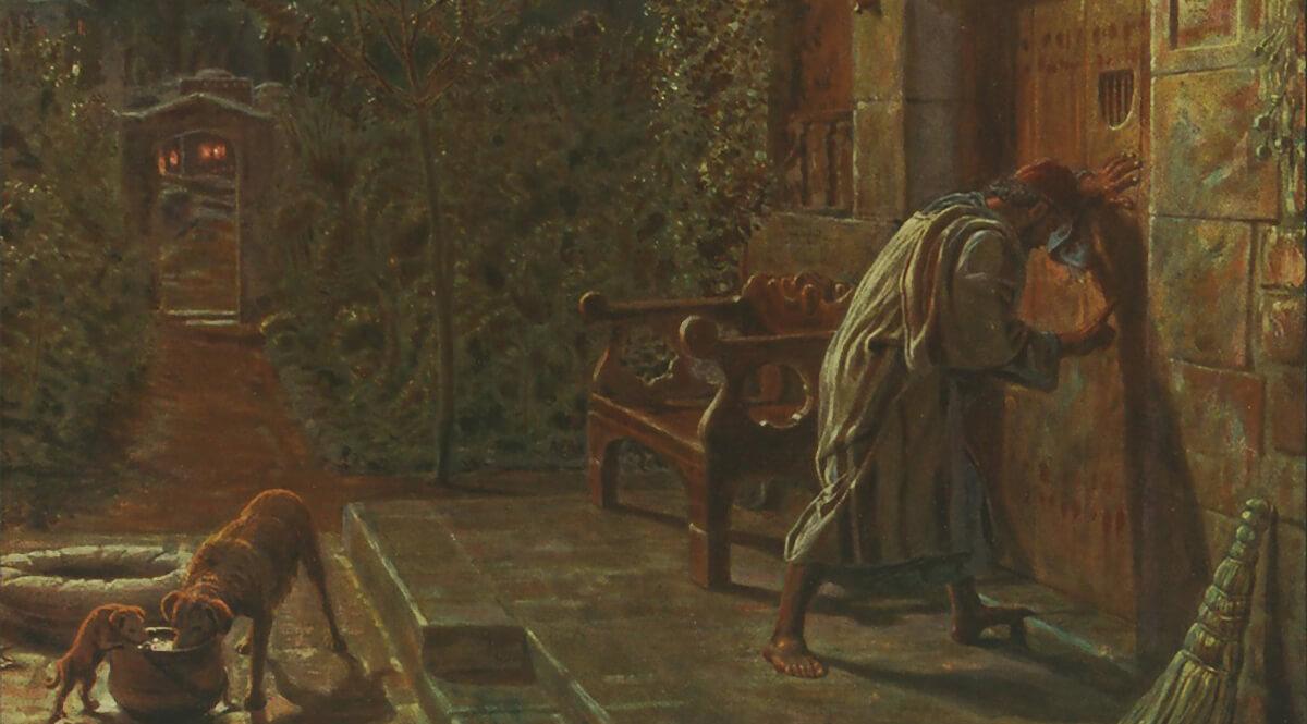 The Importunate Neighbour - William Holman Hunt