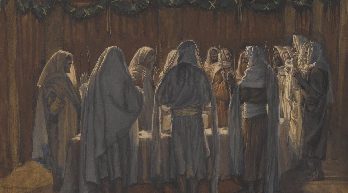 The Last Supper (La Cène légale)