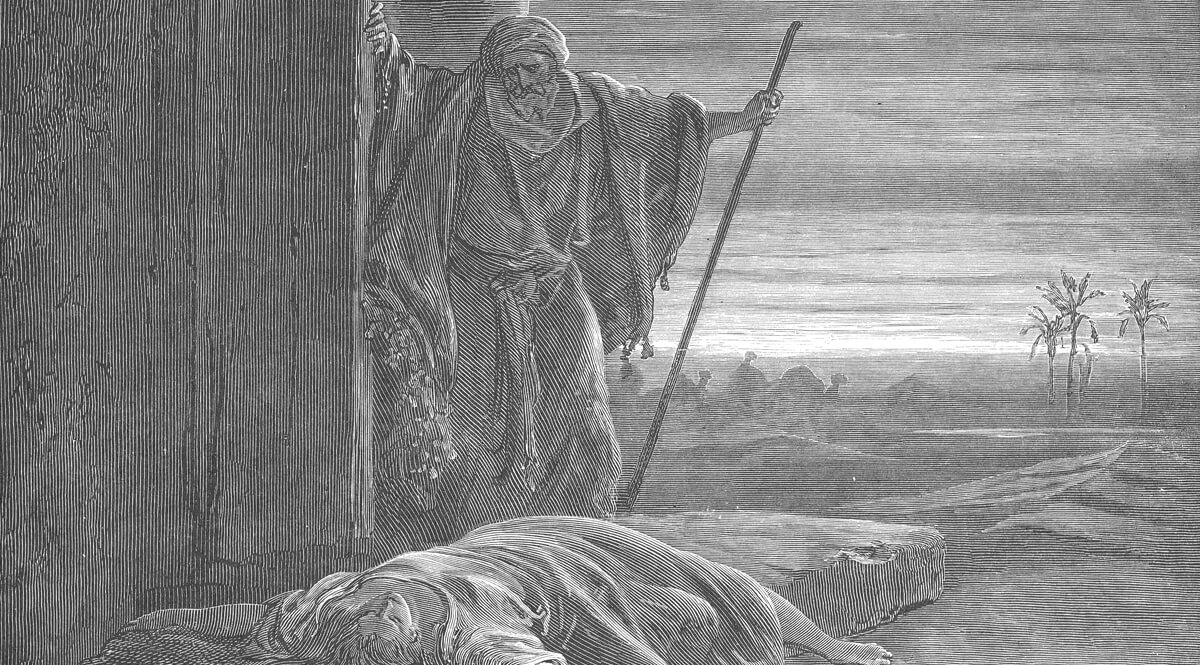 The Levite Finding the Corpse of the Woman