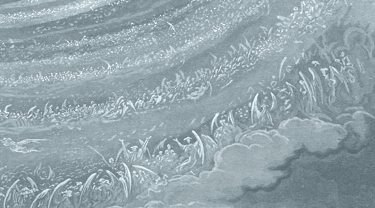 The Ninth Heaven (Detail, Top)