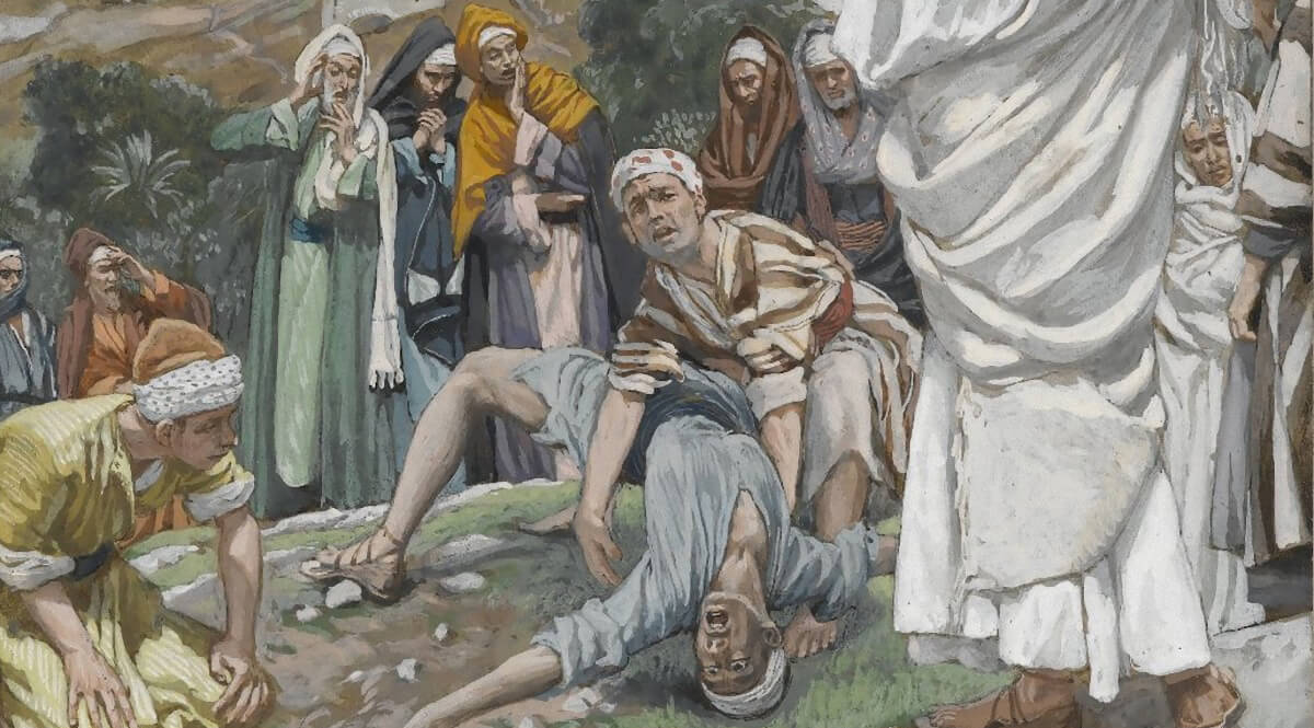 The Possessed Boy at the Foot of Mount Tabor (Le possédé au pied du Thabor)