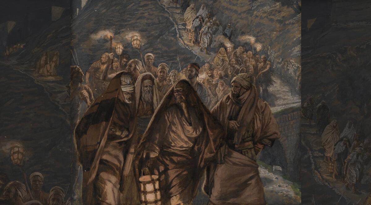 The Procession of Judas (Le cortège de Judas)
