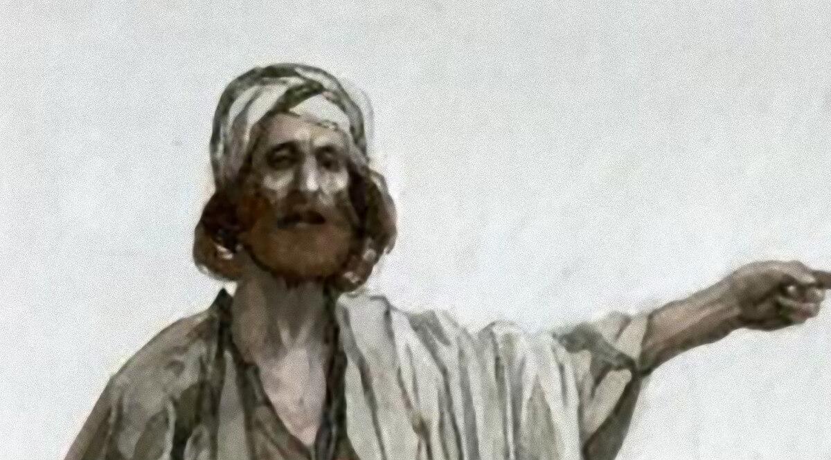 The Prophet Amos - Tissot