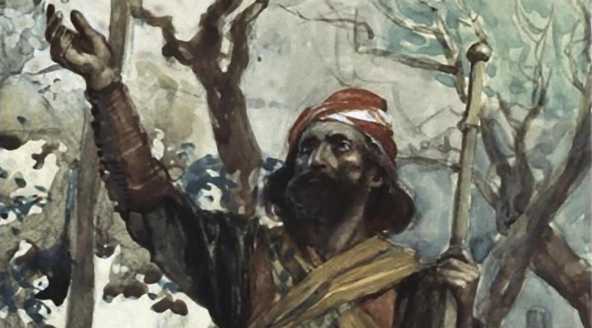 The Prophet Zechariah - Tissot
