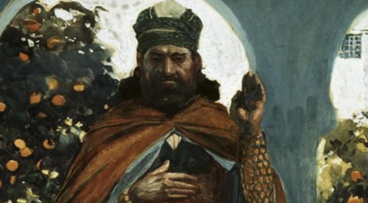The Prophet Zephaniah - Tissot