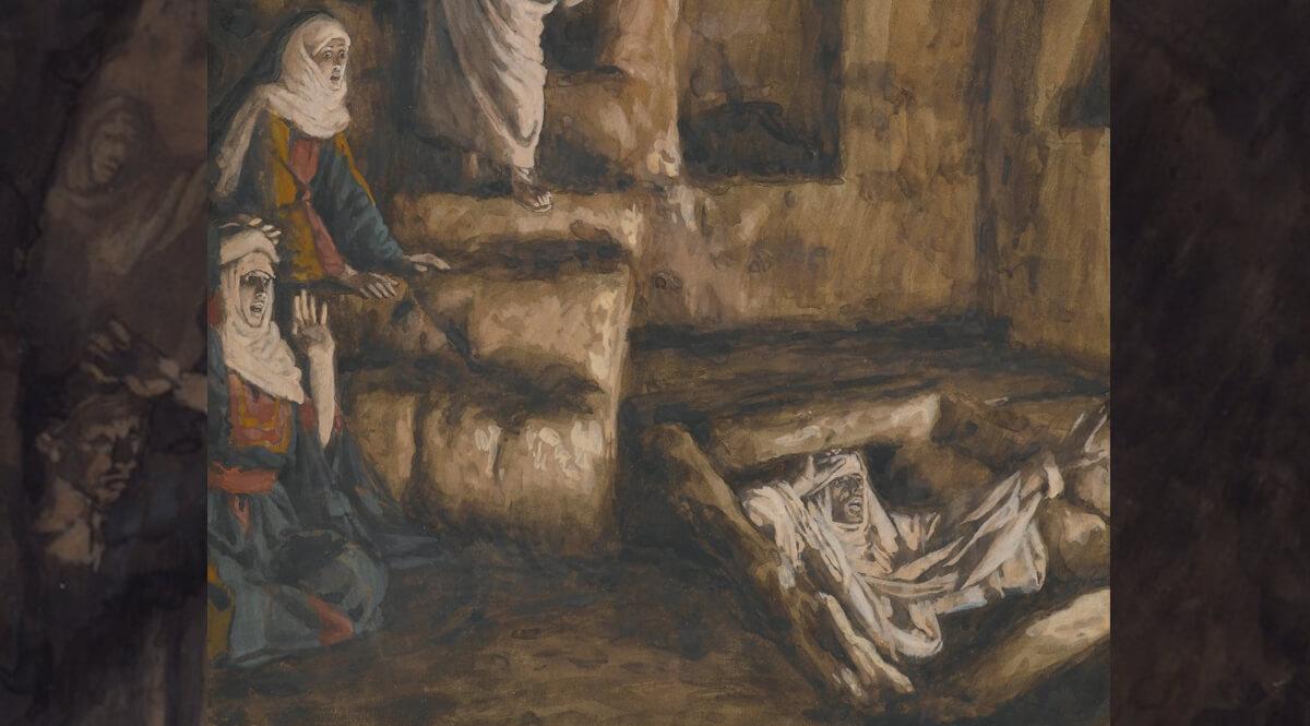 The Resurrection of Lazarus (La résurrection de Lazare)